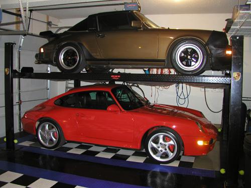 Garage ceiling height lift pelican parts technical bbs for Raise garage door height