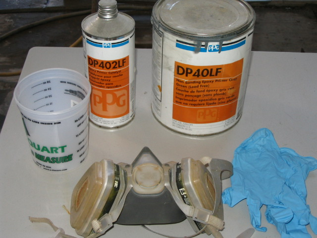 Metal Conditioning And Epoxy Priming 101 Pelican Parts
