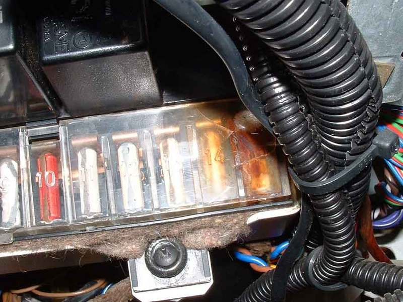 Galaxy Fuse Box Melted : Realy bad dme burnt help pelican parts forums