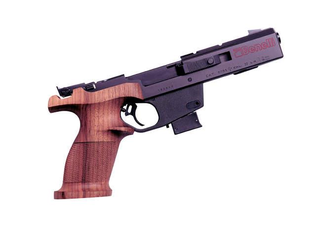 Benelli 22 pistol http www larrysguns com products benelli mp 95