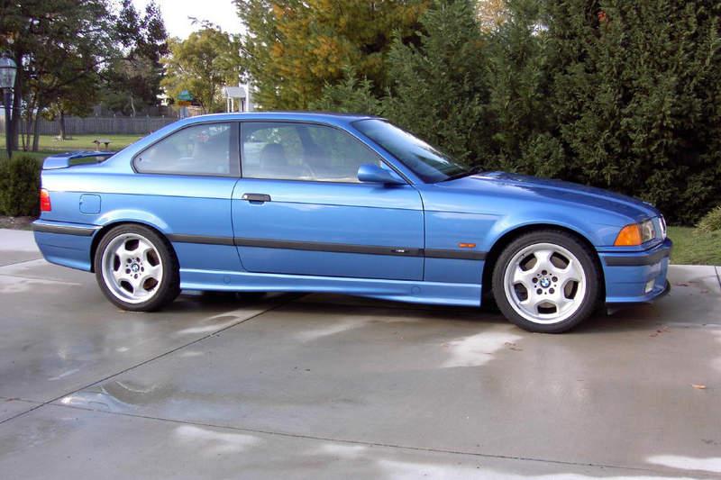 1999 BMW E36 M3 2dr Coupe Estoril Blue for Sale ...