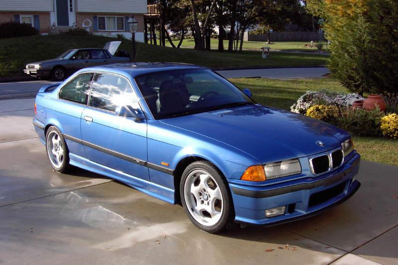 1999 Bmw E36 M3 2dr Coupe Estoril Blue For Sale