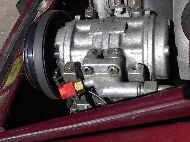 Normal Residue on AC Compressor? - Pelican Parts Forums