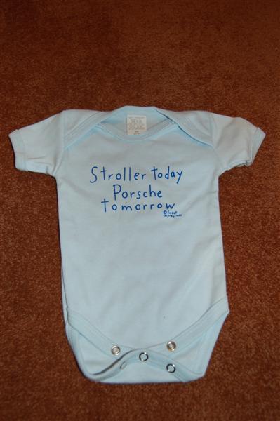 Porsche Baby Shirt Quot Stroller Today Porsch Tomorrow