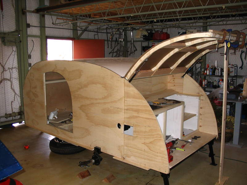 Camper and Travel Trailer plans for the home builder