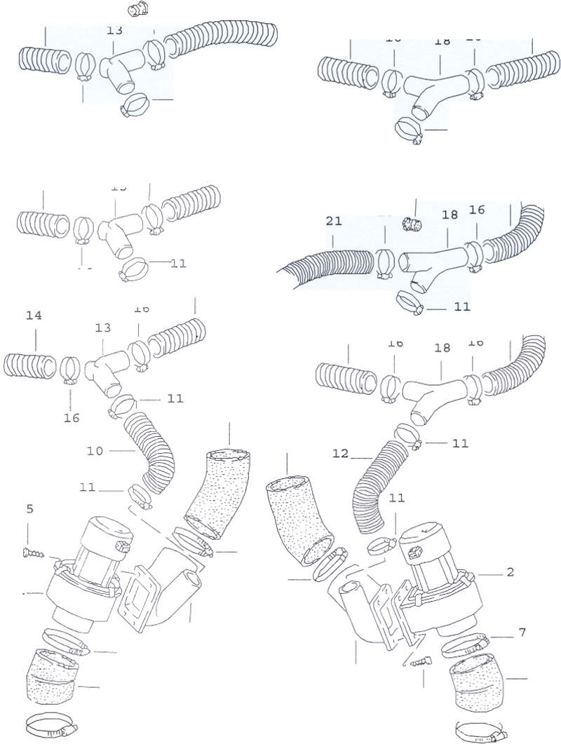 heater cntrl assembly on e-brake 86 and higher