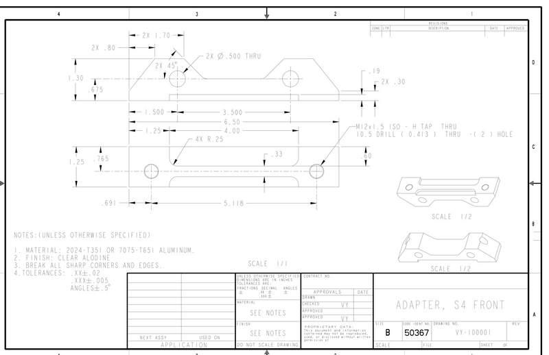 993 Front Brake Caliper Adapter Pelican Parts Forums