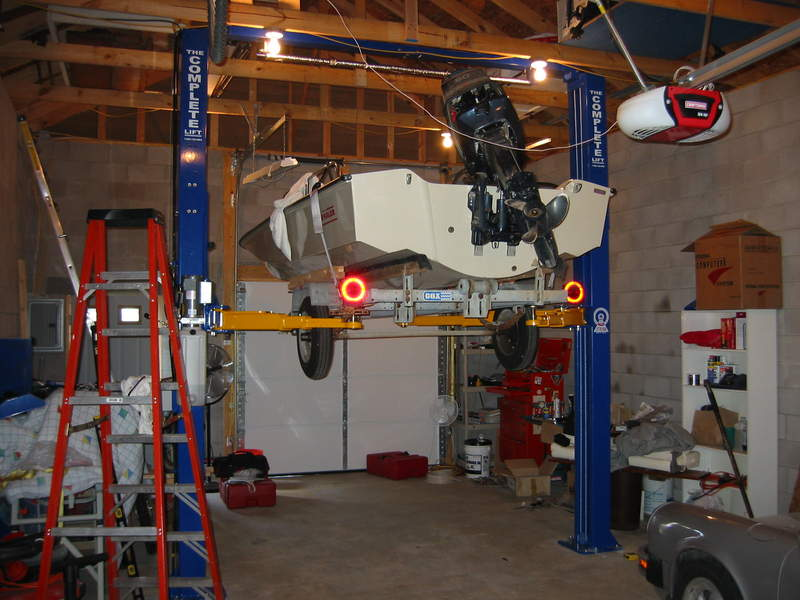 Boat Lifts Garage : Anyone have a car lift pictures of them pelican