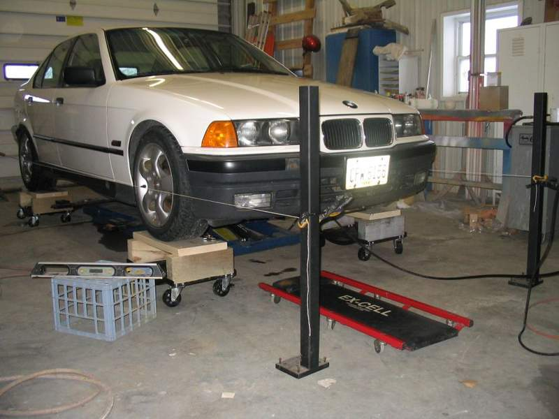 Homemade Wheel Alignment Tool >> eccentric rear toe adjustment tool - Pelican Parts Technical BBS