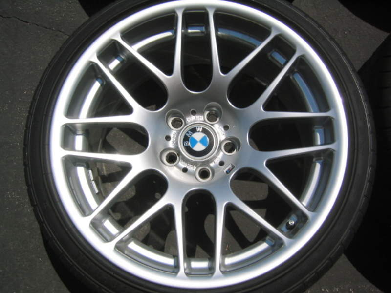Oem BMW Wheels >> FS BMW OEM CSL WHEELS w/NEW Tires Never Used