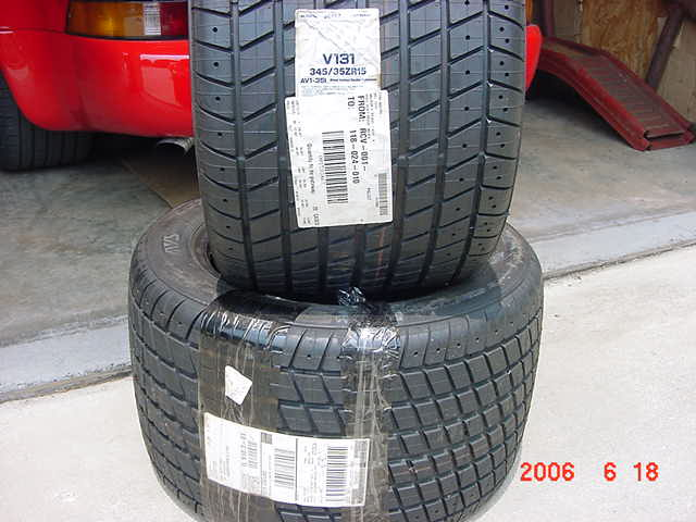 these tires have obviously never been mounted i will clean them up and package them for shipment as soon as the sale is confirmed