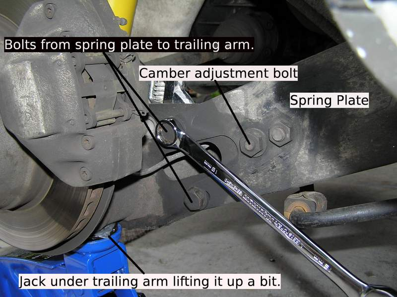 Camber Adjustment: Early 911 Spring Plates - Pelican Parts