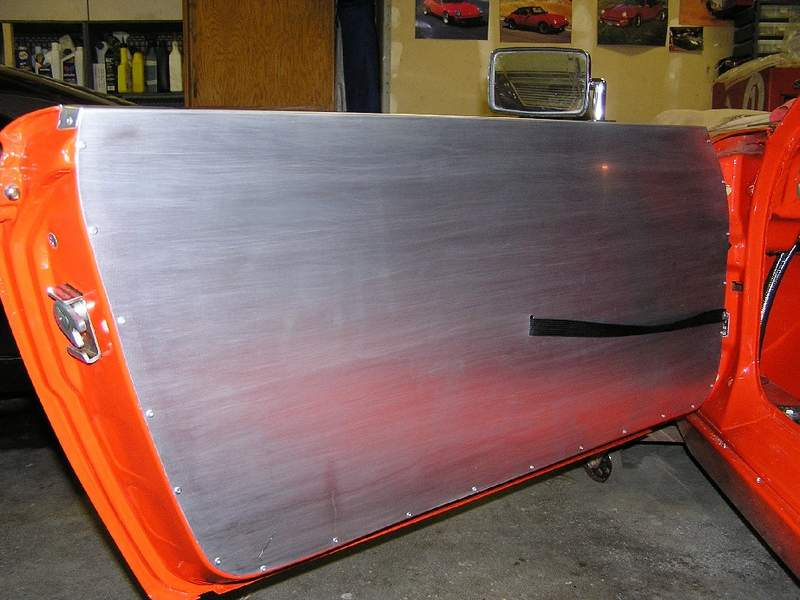 Aluminum Panel Attatched: