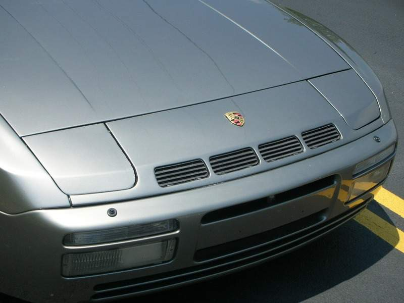 924 Turbo Vented Nose On 944 Turbo Pelican Parts