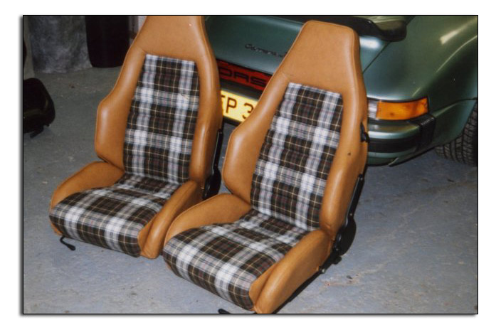 post your plaid or other seat insert pix page 2 pelican parts technical bbs. Black Bedroom Furniture Sets. Home Design Ideas