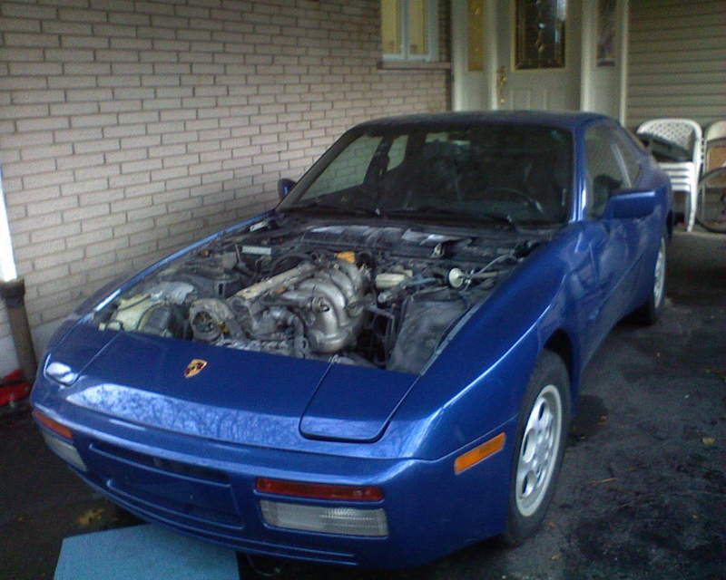 My 87 S Engine Removal Into Turbo Project Pelican Parts Forums