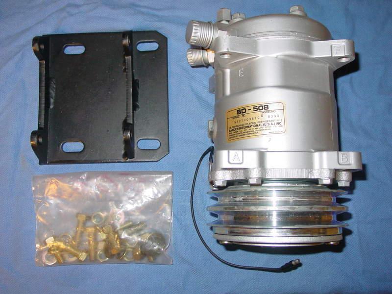 FS NIB Sanden 508 A/C Compressor & York Adapter - Pelican Parts Forums
