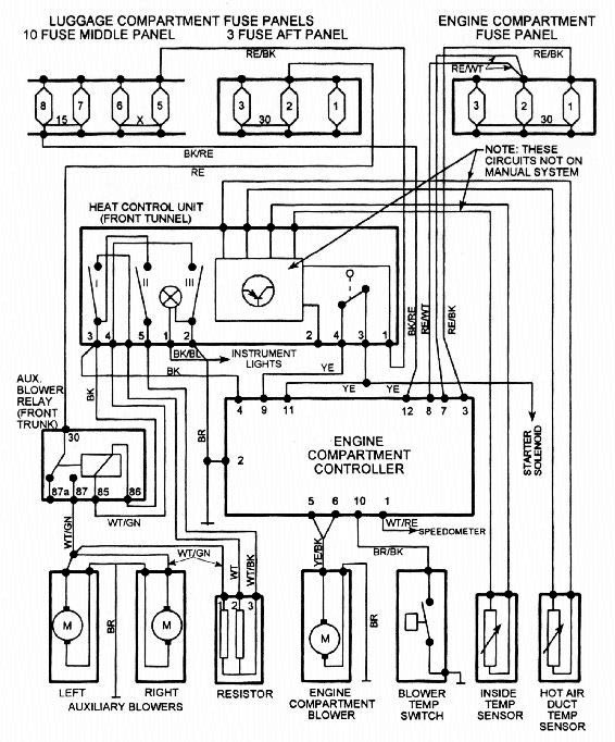 Ferrari Thermostat Wiring Diagram Schematic Diagram Schematic