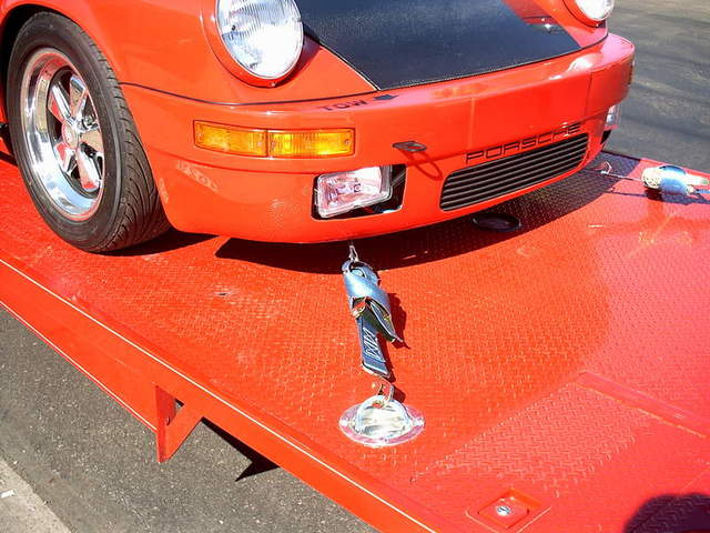 Car Door Hitting Front Fender >> Trailering a lowered 911 -- - Pelican Parts Technical BBS