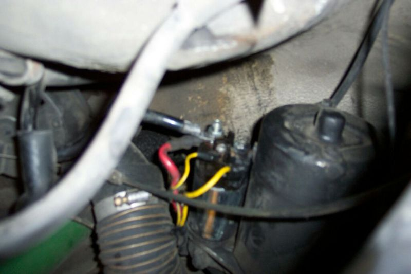 starter solenoid wiring question where do the yellow wires go pelican parts technical bbs