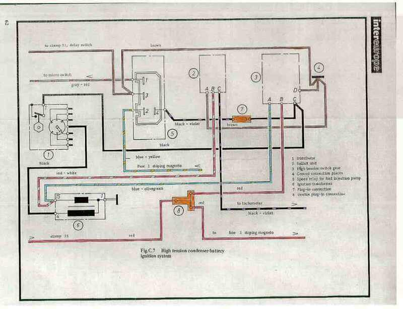 7071 911 wiring diagram color mounted 71 still not running can it be this pelican parts