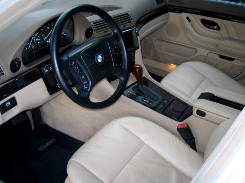 1999 bmw 740il interior. Black Bedroom Furniture Sets. Home Design Ideas