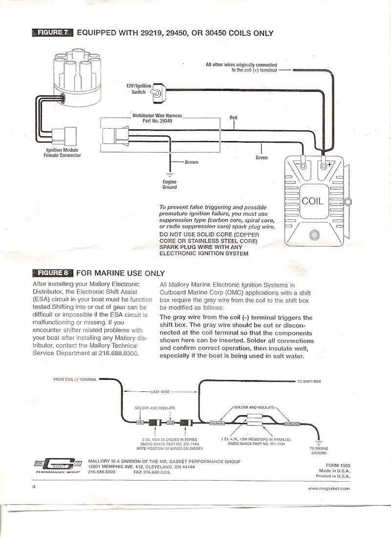 Mallory 30450 Coil Schematic Best Secret Wiring Diagram Harness Promaster And Distributor Magnido Identification
