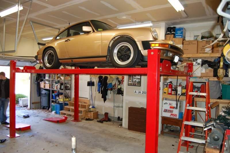 Home Made Portable Car Garage : Homemade garage car lift designs