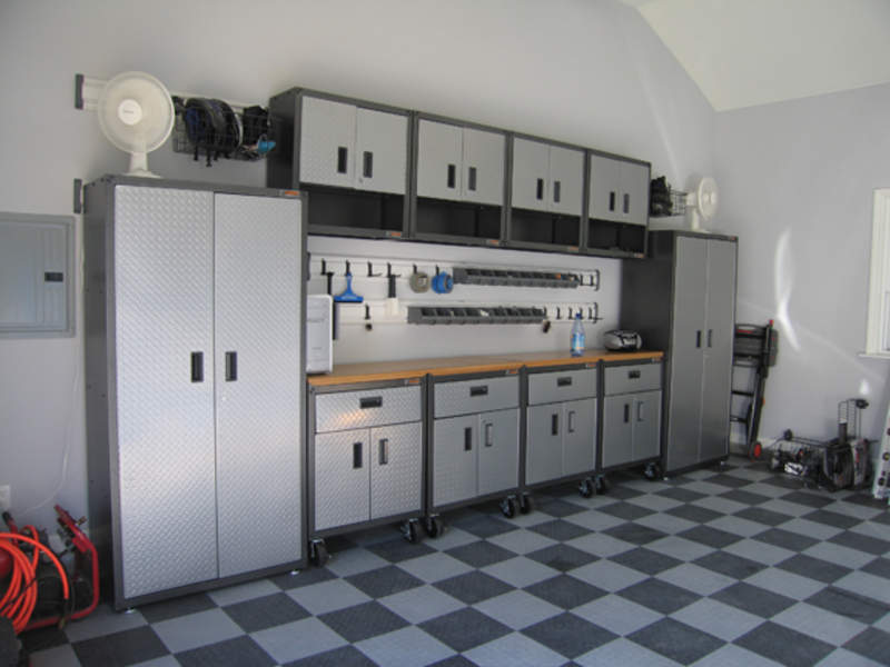 garage workshop painting ideas - Garage wall cabinets strong ones Pelican Parts