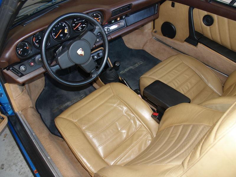 porsche 911 interior colors