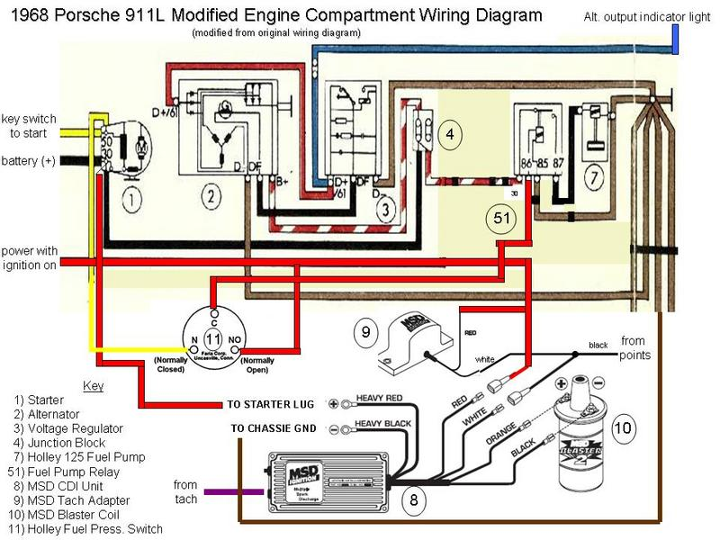 Porsche+911L_Modified+Engine+Wiring1296531984 yamaha fuel management gauge wiring diagram wiring diagram and Basic Headlight Wiring Diagram at webbmarketing.co