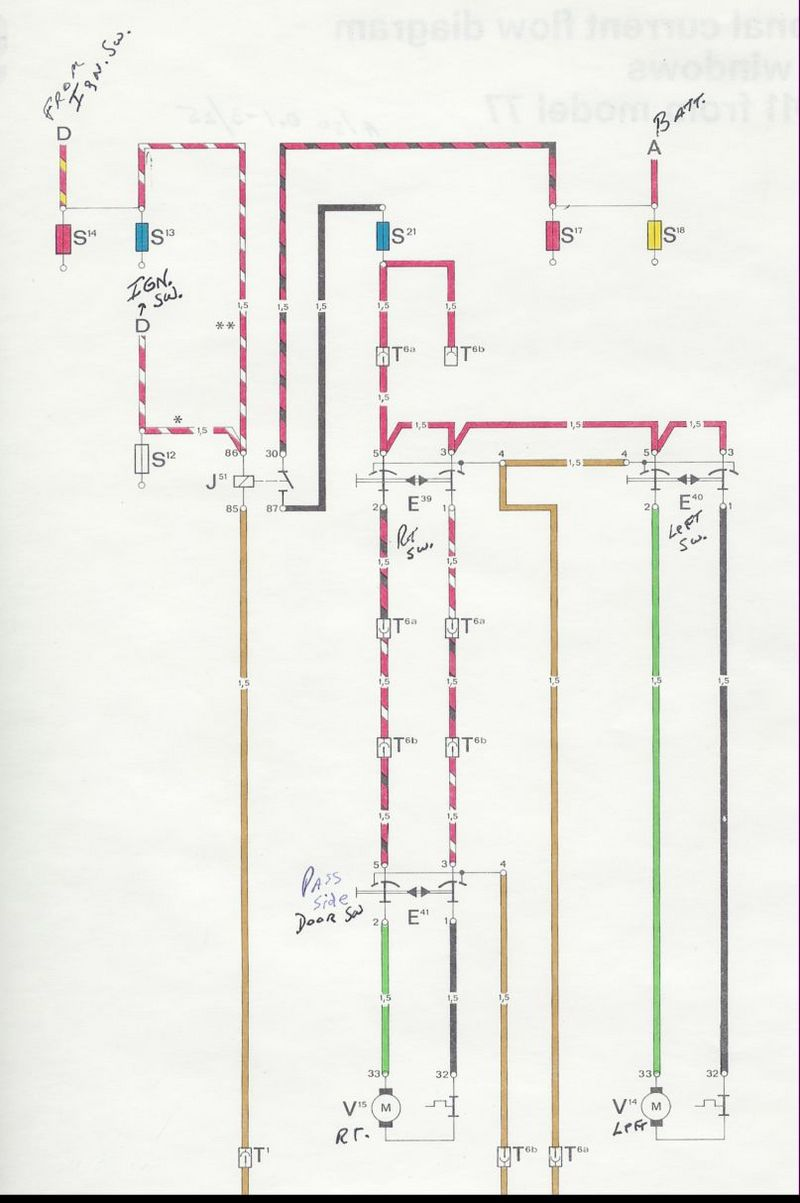 Power Window Switch Schematic Page 2 Pelican Parts Forums Porsche 911 Mirror Wiring I Might As Well Try To Earn My Keep