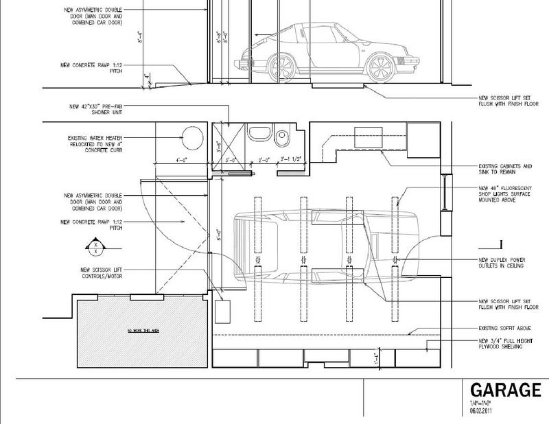 Garage floor plans with lift home desain 2018 Car lift plans