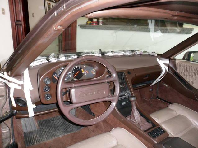 Porsche 928 Interior Trim Codes