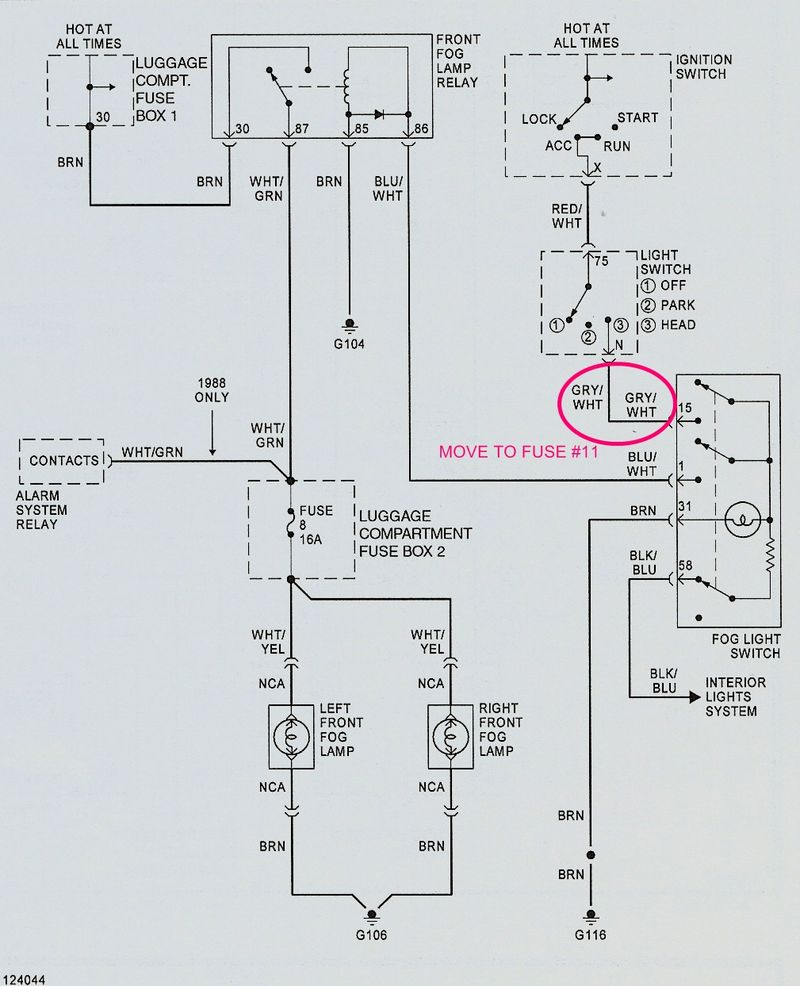 Porsche Fog Lights Wiring Diagram Schematic For Lighting Not Working Pelican Parts Forums Lamp Switch