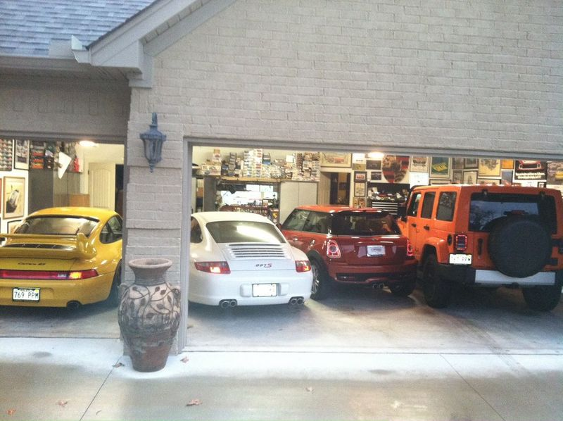 ideas for a garage workshop - 4 cars in a 3 car garage Pelican Parts Technical BBS