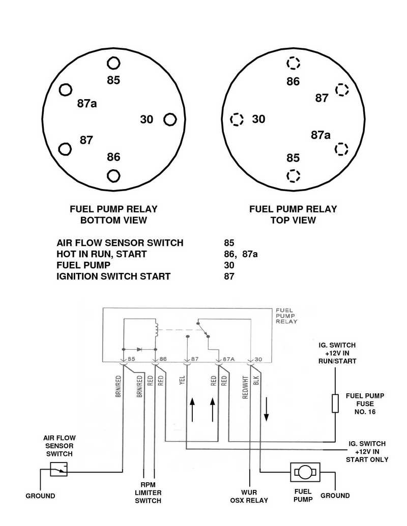 Porsche 911 Fuel Pump Wiring Diagram Example Electrical 1973 Dme Relay Location Free Engine Image For 1983