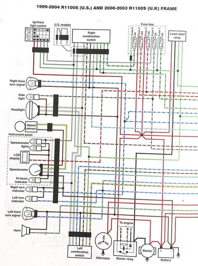Bmw Motorcycle Wiring Diagrams Dolgularcom - Bmw R100rs Wiring Diagram