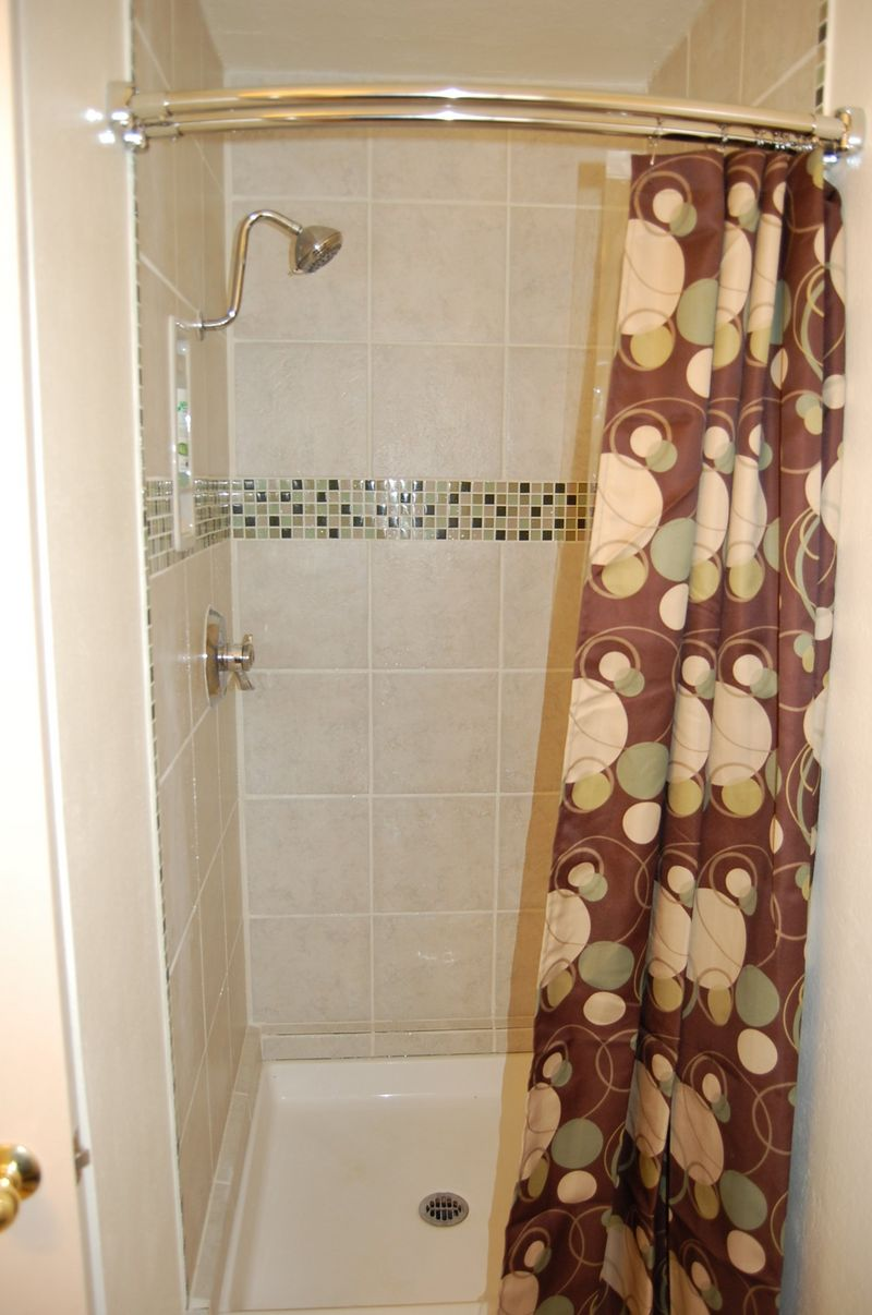 Shower Stall Curtain Rod Home The Honoroak