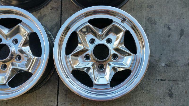 Porsche 911/912 ATS cookie cutter 15x6 & 15x7 wheels ...