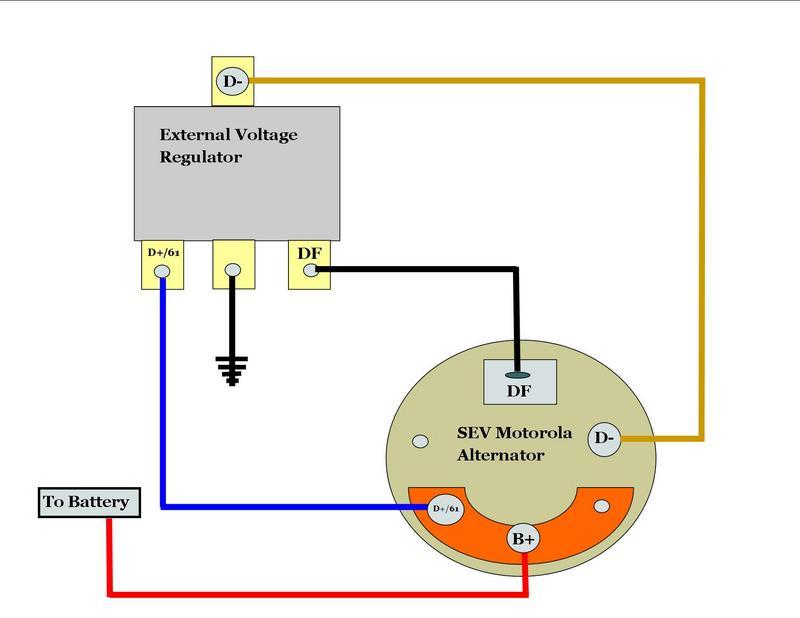 Wiring Diagram For Motorola Alternator