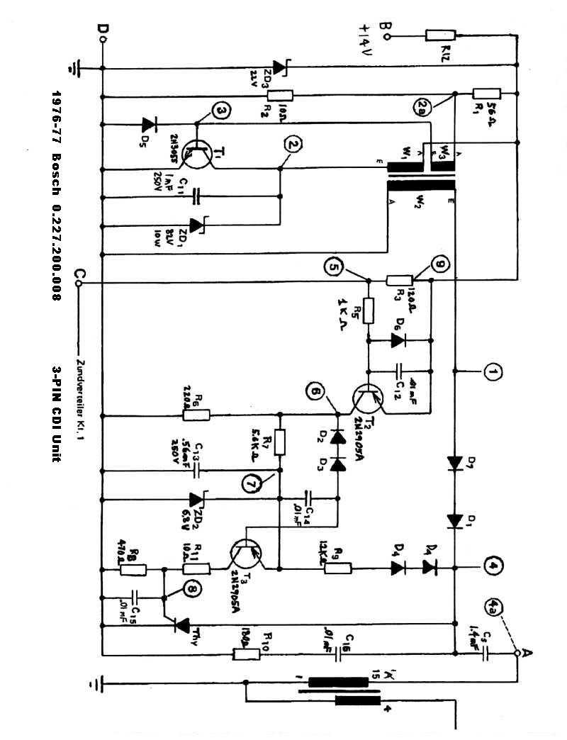 5 Pin Cdi Wiring Diagram For Daytona Medium Weight 6 Wire Dc And Hernes Chinese