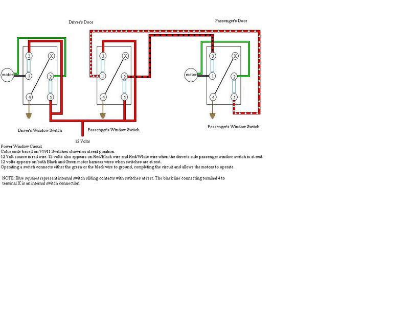 2 Doors Power Window Wiring Diagram from forums.pelicanparts.com
