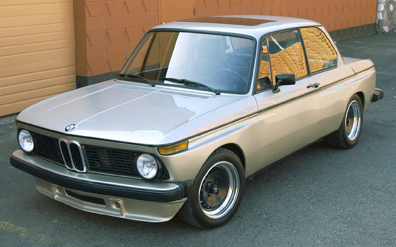 1975 BMW 2002 Bronze Sculpture