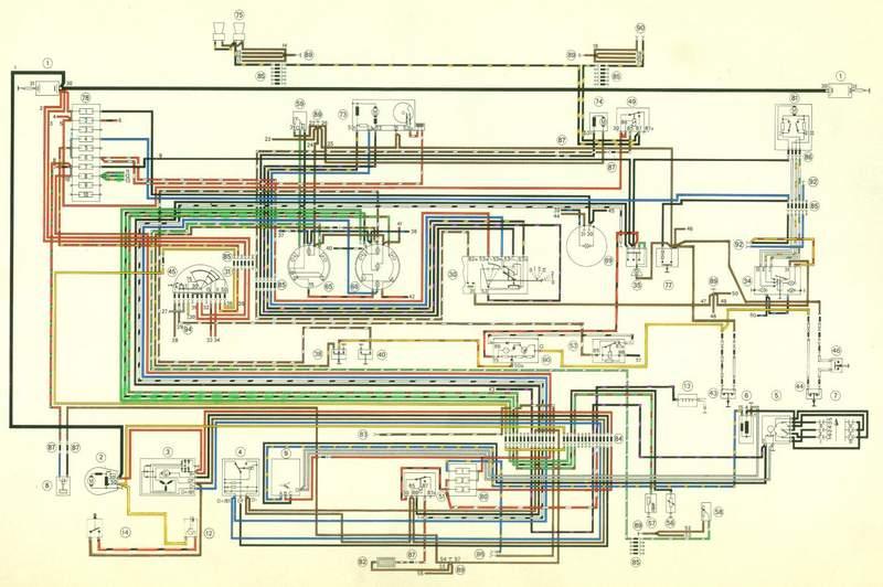 porsche 911 wiring diagram besides porsche 356 dimensions diagram  1958 1959 porsche 356a wiring diagram wiring diagram schemes rh binswanger fr